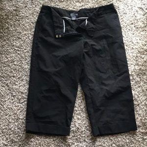 George Black Dress Pants Capris size 18